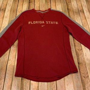 Nike Men's Florida State Waffle Knit Long Sleeve